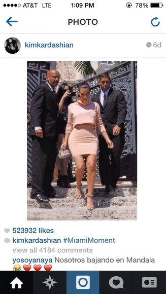 kim kardashian top alaia blouse skirt shorts shoes