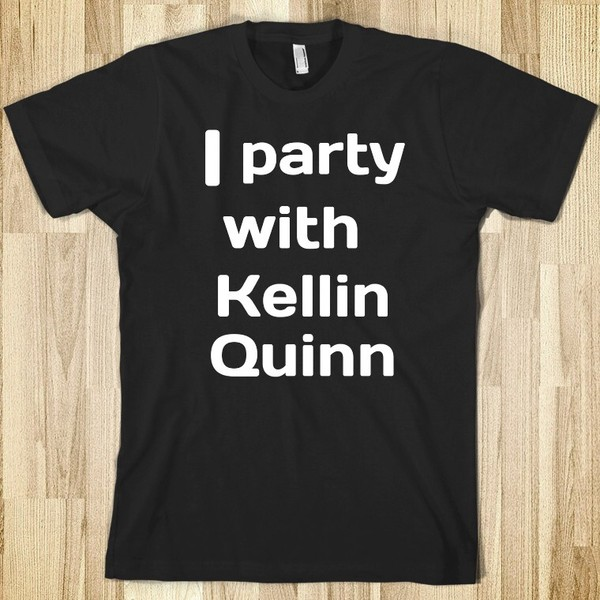 t-shirt omh wow kellin quinn party black amazing gotta have it ohala