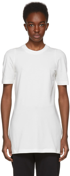 Y-3 t-shirt shirt t-shirt white top