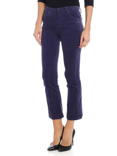 J Brand Jbrand - Selena Trousers in blue