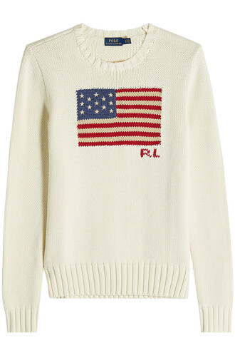 pullover cotton beige sweater