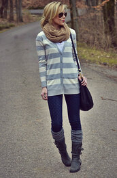 happily grey,sweater,t-shirt,shoes,scarf,bag,jewels