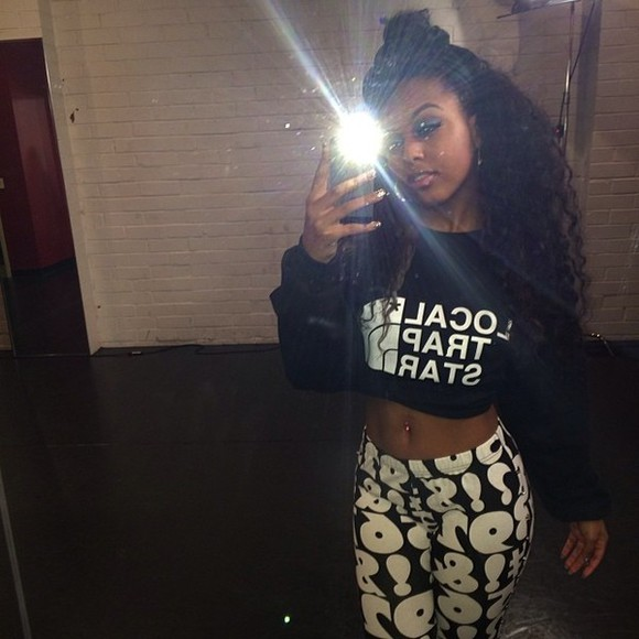 crewneck bahja bahja rodriguez dope shirt number leggings number