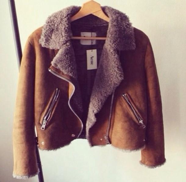 jacket acne studios brown jacket brown  jacket bomber leather brown jacket leather jacket brown acne studios