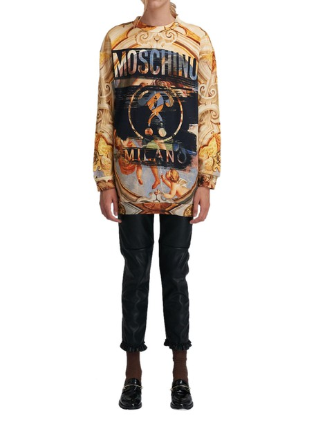 Moschino dress sweatshirt dress multicolor