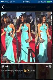 dress,prom dress,long prom dress,light blue
