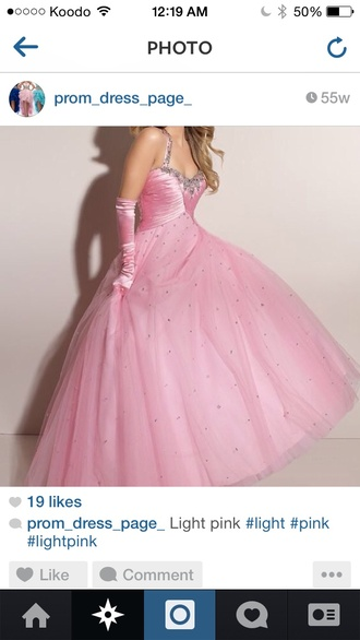 prom princess ball gown sparkle