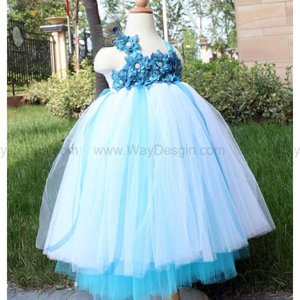flower girl dress toddler birthday dress wedding dress