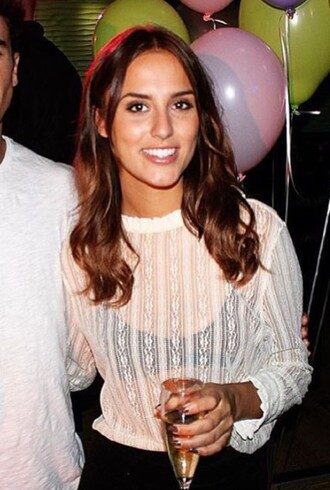 top hipster lucy watson lace top white laces top