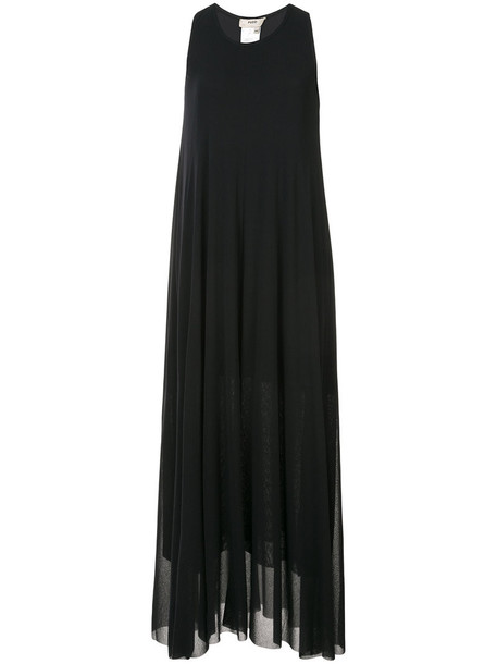 Fuzzi dress maxi women black