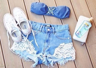 shorts colorswitch beautiful trousers pretty jeans shorts jeans pants jeans cropped light wash denim ripped