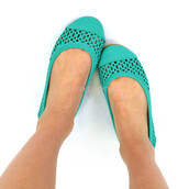 shoes,flats,spring ballet flats,mint shoes,spring outfits,pretty shoes,girly