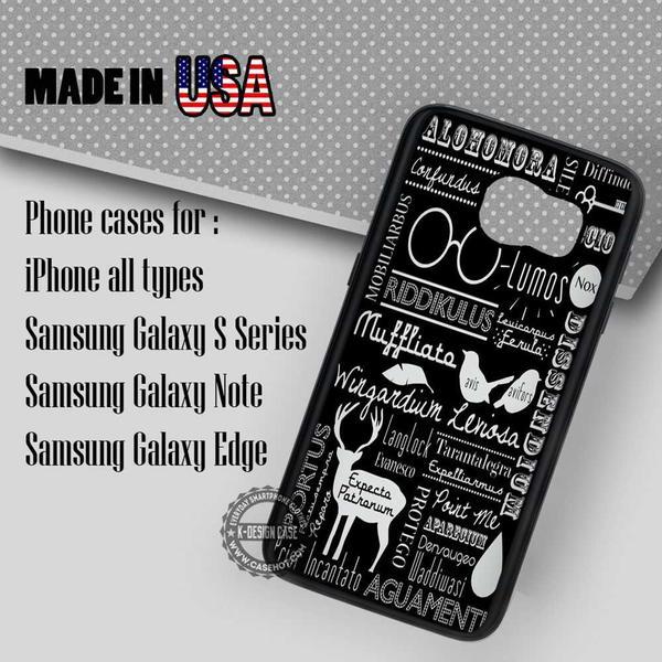 Samsung S7 Case - Spells Quote Hogwarts - iPhone Case #SamsungS7Case #hp #yn