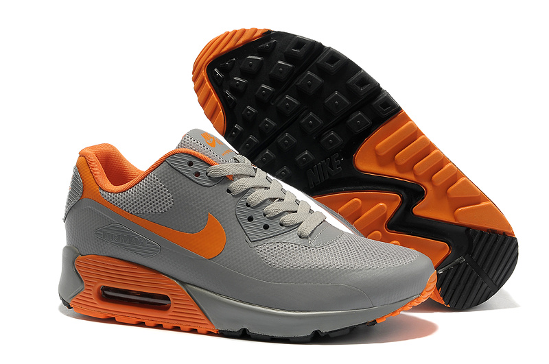 air max 90 hyperfuse orange and grey
