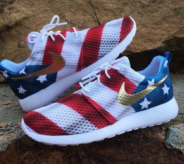 factory price 0d9ce f62c4 ... I6078000003006 Custom America Roshe Runs custom nike roshe run american  flag ...