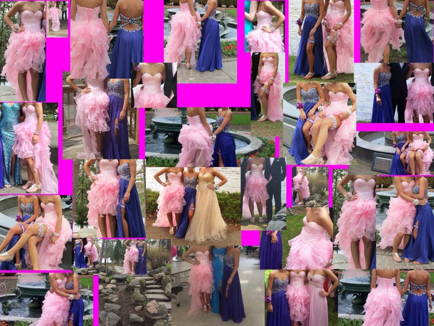 dress pink pink dress hot pink dress prom dress homecoming dress prom strapless beaded homecoming hi low dresses hi low homecoming dresses hi low prom dress sequins