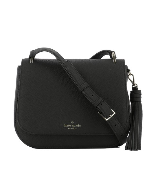 bag shoulder bag leather black black leather