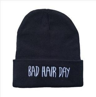 "Lookbookstore "" Bad Hair Day"" beanie"