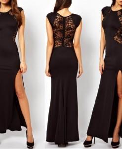 2013 New European Fashion Women Sleeveless Elegant Embroidered Bodycon Casual Dress 9011 | Amazing Shoes UK