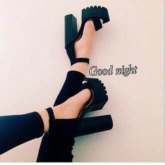 shoes black black heels high heels heels instagram