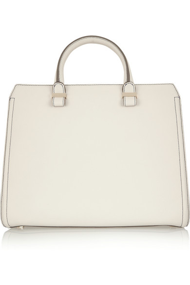 Victoria Beckham | The Victoria matte-leather tote | NET-A-PORTER.COM