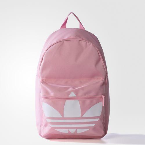 0ffe9108cf60 adidas Classic Trefoil Backpack - Pink