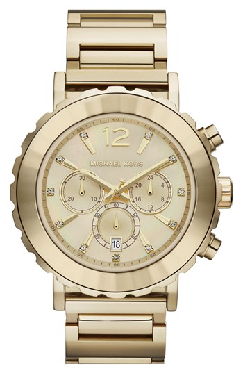 Michael kors womens watch nordstroms - 88 results from brands Michael Kors, Skagen, products like Michael Kors Women'S Jaryn Pave Crystal Bracelet Watch, 38Mm No Color One Size At Nordstrom, Women's Michael Kors 'Bradshaw' Chronograph Bracelet Watch, 43mm, Michael Kors MK