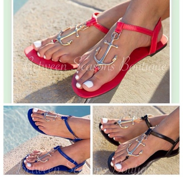 345e702cd21b shoes red shoes red sandals red dress red underwear sandals anchor anchor  sandals anchor bracelet anchor