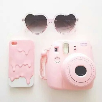 phone cover white rose sunglasses