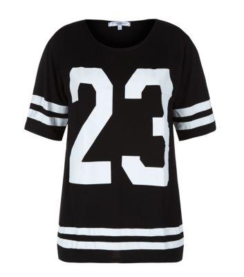 Black 23 Baseball T-Shirt