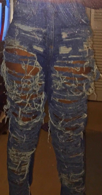 jeans mom jeans ripped/distressed/destroyed jean shorts high waisted jeans baggy jeans
