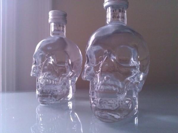 top skull bottles