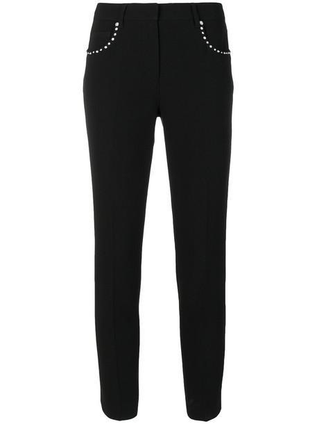 Miu Miu cropped women black pants