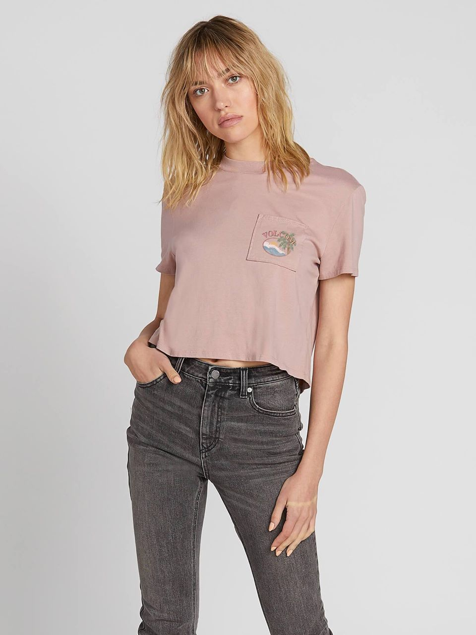 Made From Stoke Tee - Faded Mauve