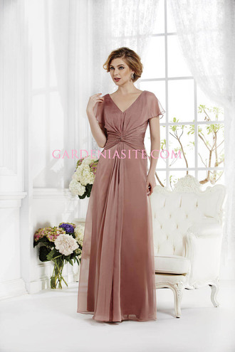 dusty pink wedding clothes