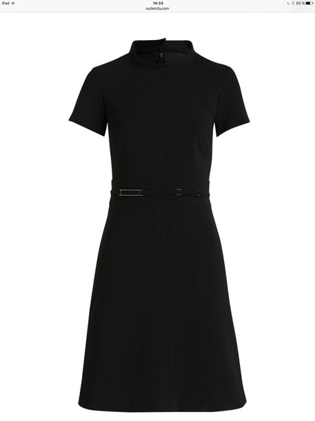 dress marc cain black dress