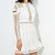 White Criss Cross Lace Long Sleeve Dress on Storenvy