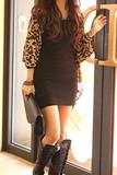 Sirenlondon — leopard chiffon cardigan