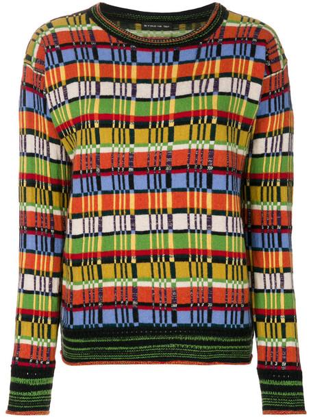 Etro - knitted jumper - women - Polyamide/Acetate/Cupro/Metallic Fibre - 40, Polyamide/Acetate/Cupro/Metallic Fibre