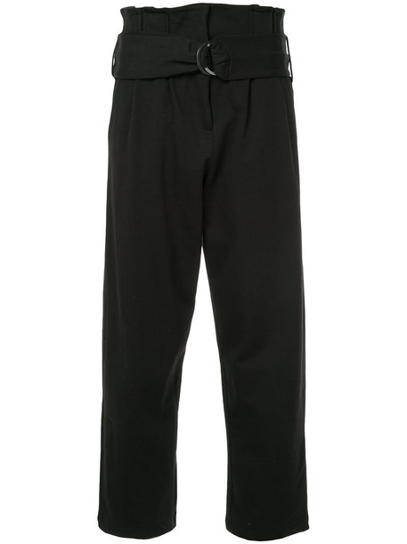 Thom Krom high waisted high women cotton black pants