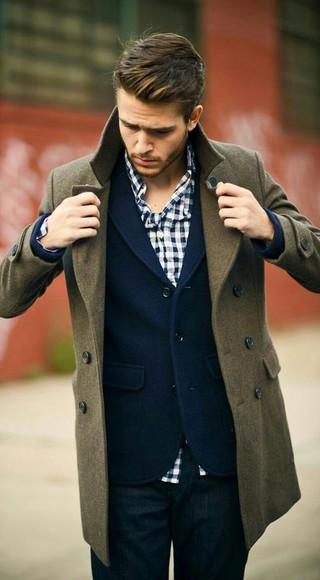 cardigan flannel shirt coat menswear fall outfits plaid shrt