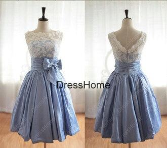 dress lace blue wedding dress cheap wedding gown vintage bridesmaid dress blue bridesmaid dresses