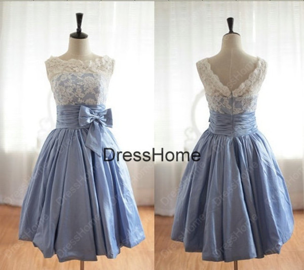 dress lace blue wedding dress cheap wedding gown vintage bridesmaid dress blue bridesmaid dresses