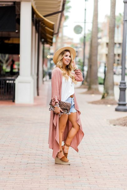 januaryhart blogger cardigan tank top top shorts jewels shoes bag