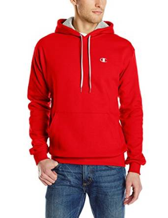 com: Champion Men's Pullover Eco Fleece Hoodie: Clothing