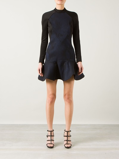 Stella Mccartney Peplum Hem Dress - Montaigne Market - Farfetch.com