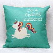 home accessory,pillow,unicorn,knitted pillow,tumblr,blue,teal,throw pillow,bedroom,quote on it pillow,turquoise,living room,tumblr bedroom