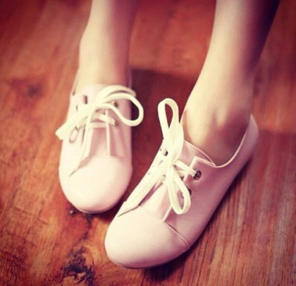 shoes oxfords oxford flats 90s pastel