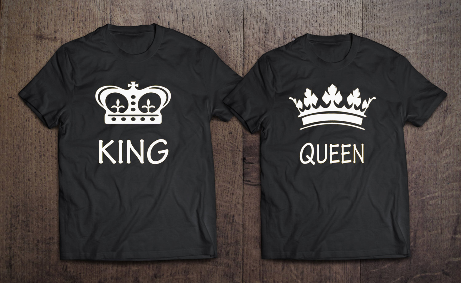 king and queen shirts pictures to pin on pinterest pinsdaddy. Black Bedroom Furniture Sets. Home Design Ideas