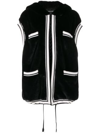 vest women black jacket